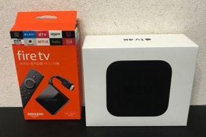 Apple TVとFire TV 4Kの比較